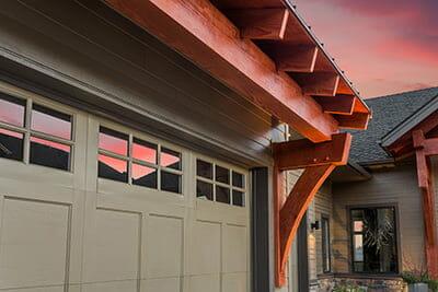 Be conscious of garage windows